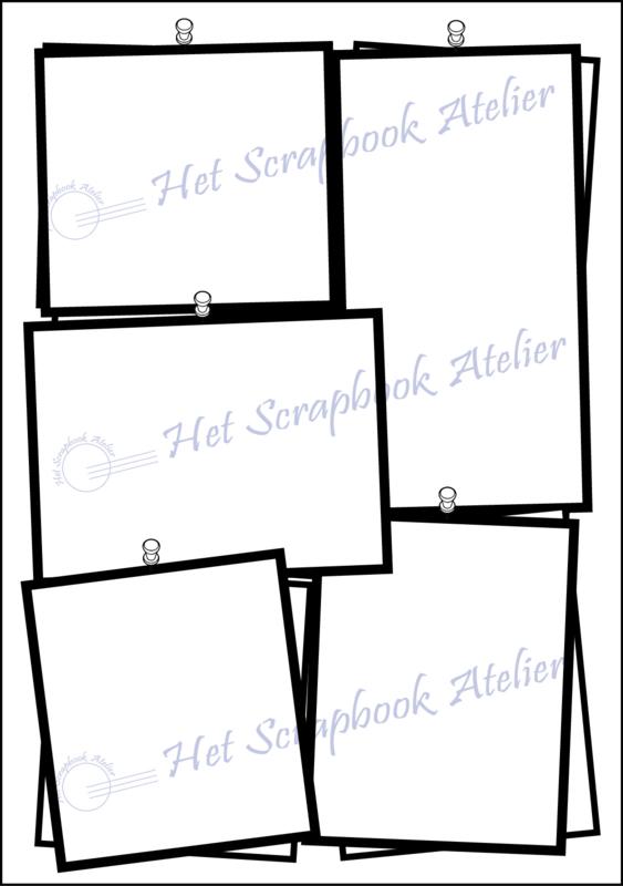 HP Stempel 101c, Prikbord met extra omlijning