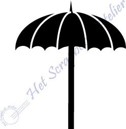 HP Stempel 110k, Streepjes parasol mini