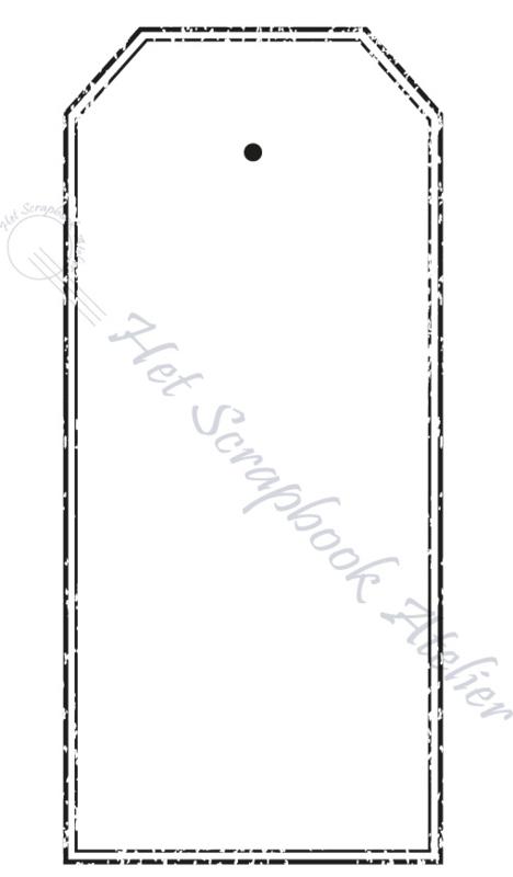 HP Stempel 51m, Stempel tag dubbele lijn oud, mini