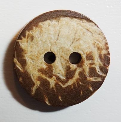 Knoop, hout, doorsnede 2,8 cm
