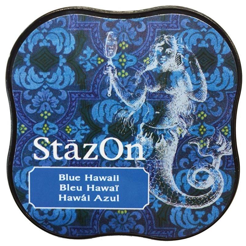 Stazon- Midi-Blue Hawaii