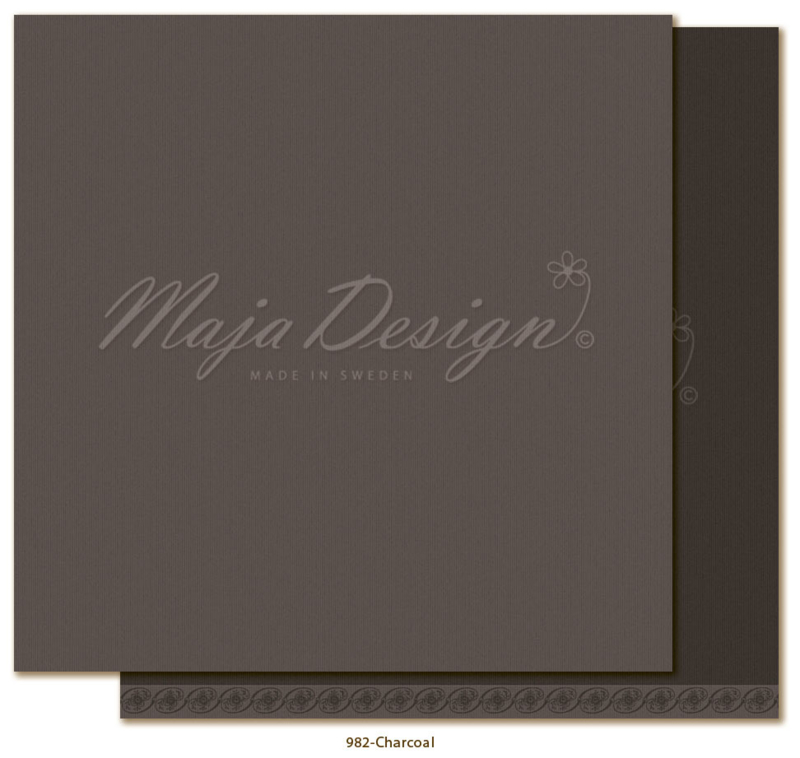 Maja Design * Monochromes shades of celebration * Charcoal *