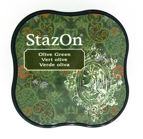 Stazon- Midi- Olive Green