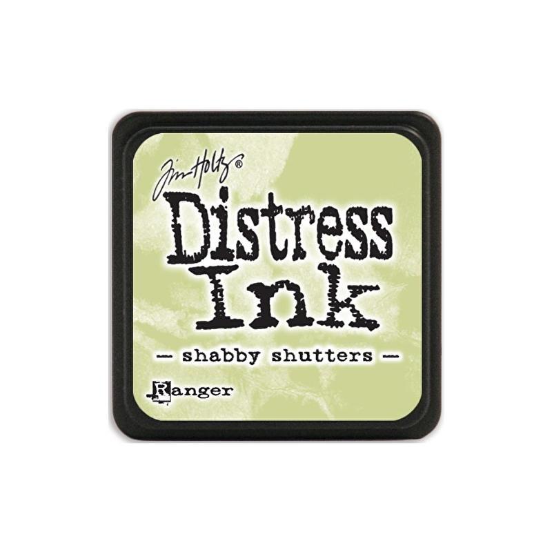 Distress Ink Mini Shabby Shutters