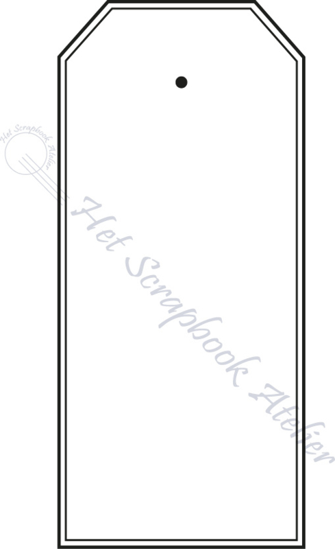HP Stempel 51p, Tag dubbele lijn strak mini