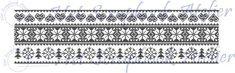 Stempel 29z, Noors patroon