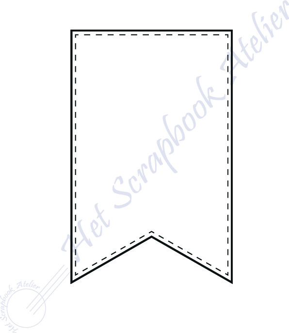 HP Stempel 117c, banner mini 3 x 4,5 cm