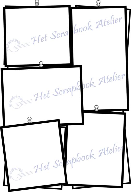 HP Stempel 101d, Prikbord zonder extra omlijning