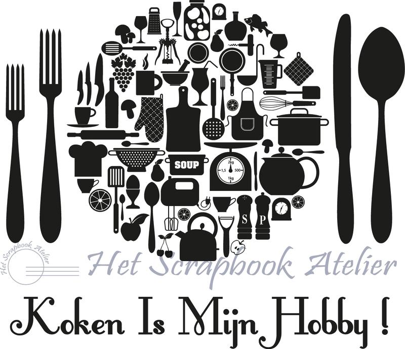 HP Stempel 14a Koken is mijn hobby