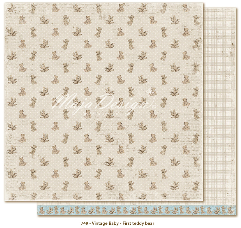 Maja Design * Vintage Baby * First Teddy Bear