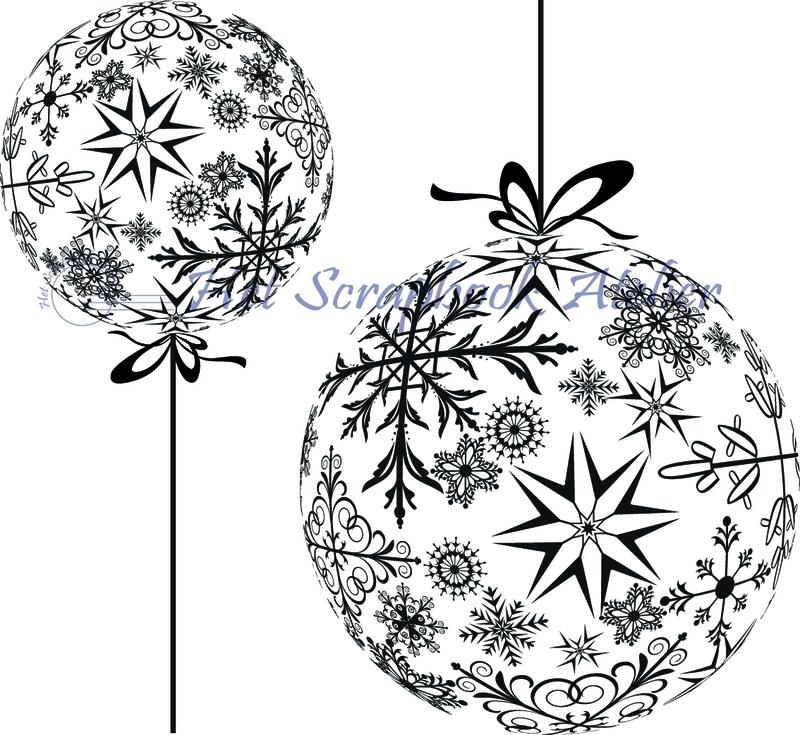 HP Stempel 29a Kerstbal set