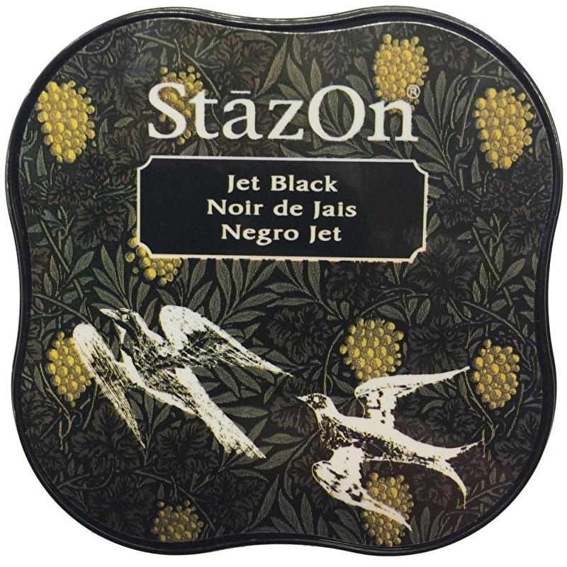 Stazon- Midi- Jet Black