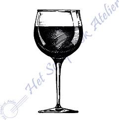 HP Stempel 114c, Wijnglas mini