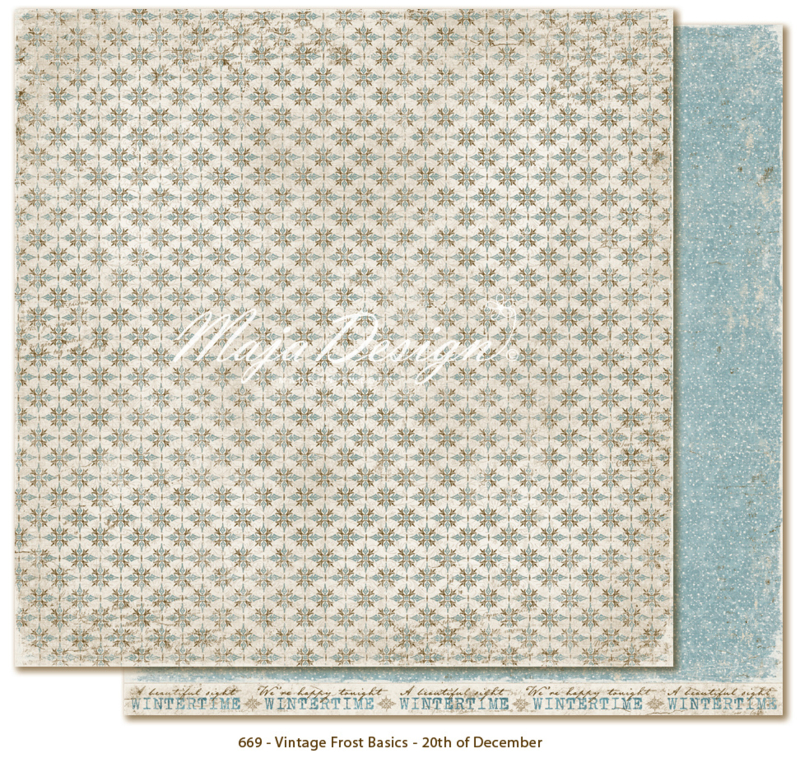 Maja Design * Vintage Frost *20th of december