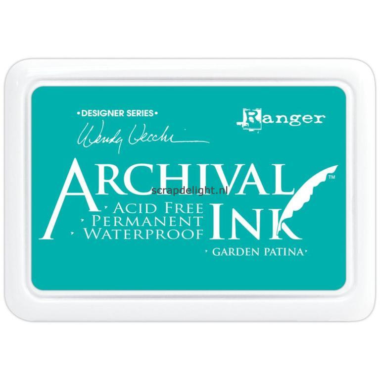 Archival Ink, Garden Patina