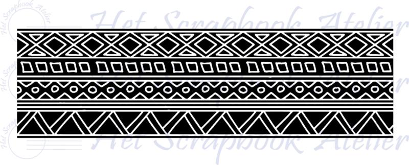 HP Stempel 116e, Tribal Border