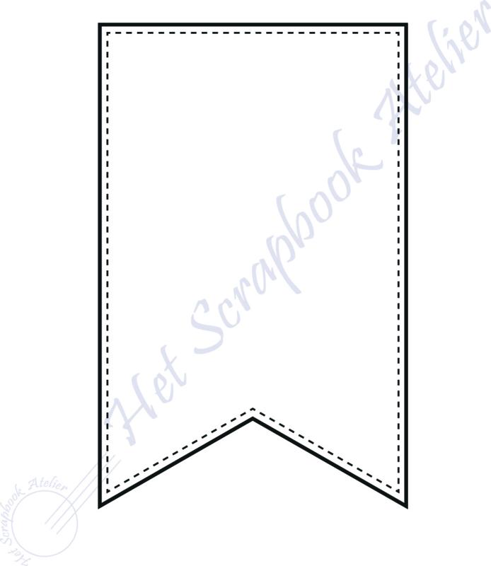 HP Stempel 117b, banner midi 5,5 x 9 cm