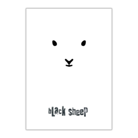 Black Sheep A3 poster