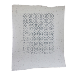 Batik op rietpapier