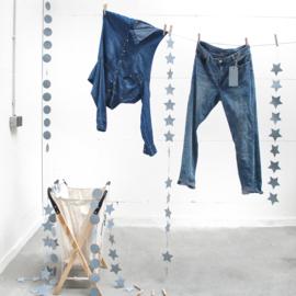 Slinger jeans papier Rond