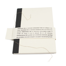 Boekje A5 Aquarel papier