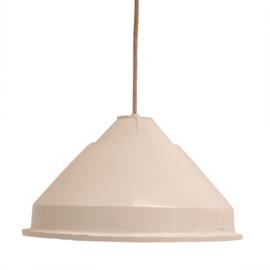 Lamp met kap, porselein fitting, snoer ca 2.5mtr