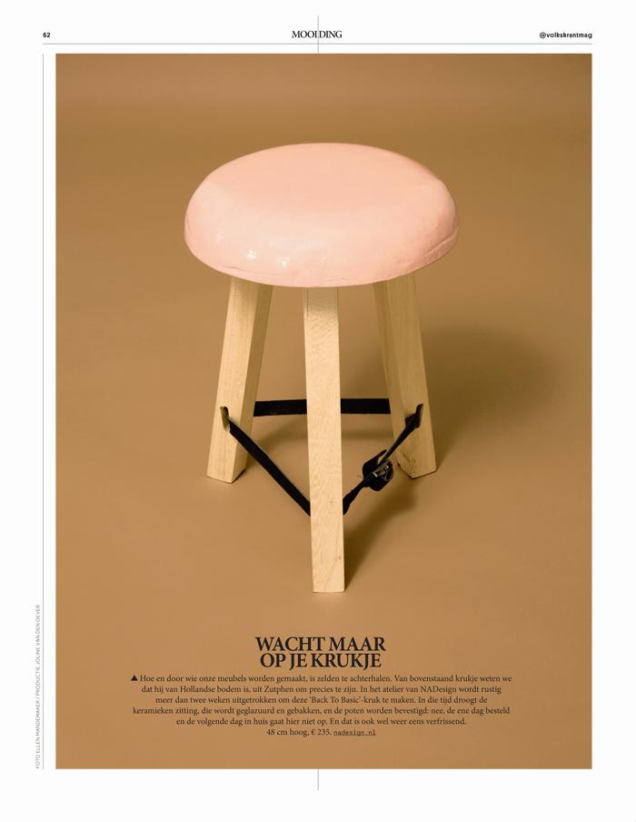 Volkskrant Magazine 8 april 2017 - nr 825 Mooi Ding - NADesign Krukje