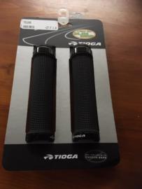 TIOGA Lock-On BMX Handvattenset, Zwart, Gloednieuw op kaart