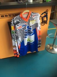 JOPA TECHNO BMX Shirt, Wit/Zwart, Maat Small, Gloednieuw