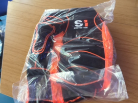 Safety First S1 BMX Adult XL Bodyprotector, Zwart/Oranje, Gloednieuw
