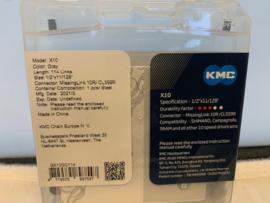 KMC X10-73, 10 speed, ATB Ketting met Quick Link