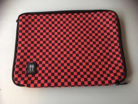 APPLE I-MAC Hoes, 13 inch, Rood/Zwart, Gloednieuw
