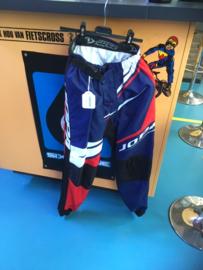 JOPA Racing Pants BMX Race BROEK, Adult 30, Blauw/Rood/Wit/Zwart, Gloednieuw