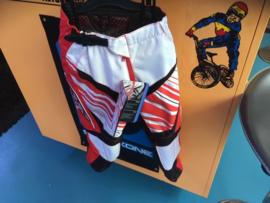 AXO Racing Pants BMX Race BROEK, Youth 22, Rood/Wit, Nieuw