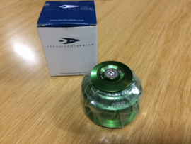 AEROZINE Semi-Integrated 1 1/8 inch Headset, Groen Geanodiseerd, Gloednieuw