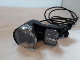 Ebike Verlichting van Herrmans MR GO E 6-12V voor montage op suntour voorvork