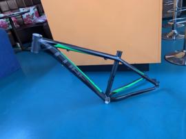 CUBE RACE ONE HPA 650B Cube Mountainbike Frame, Zwart/Groen, 16 inch Small, Gloednieuw
