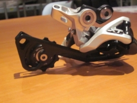 Shimano XT, RD-M780 ATB 10 speed Shadow SGS Achterderailleur, Zilver/Zwart, Nieuw
