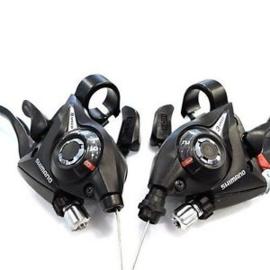Shimano 3 x 7 versnellingen Dual Control Rem/Shifterset
