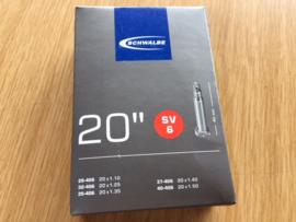 Schwalbe 20 Inch SV6 BMX binnenband, Gloednieuw in verpakking