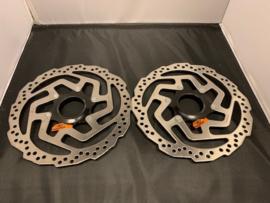 Shimano SM-RT10 Centerlock ATB Remschijven, 180mm, 2 stuks, Gloednieuw