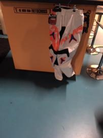 Alias B1 BMX Broek, Oranje/Wit/Blauw, Adult 28, Gloednieuw