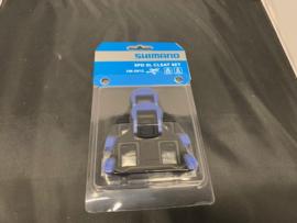 SHIMANO SM-SH12 SPD-SL RACE Schoenclips Rood/Zwart met schroefjes etc. Nieuw in verpakking
