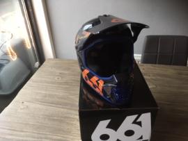 SIXSIXONE MX BMX Fullface Helm, XS Fullface BMX, MX Helm, Gloednieuw