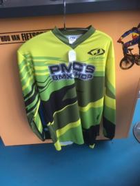 JOPA TECHNO BMX Shirt, Groen/Geel, Maat Small, Gloednieuw