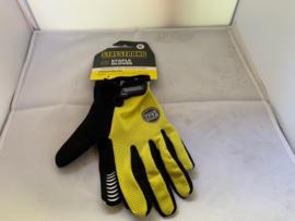 Staystrong Staples GLOVES, BMX Fietshandschoenen Medium, Geel/Zwart, Gloednieuw