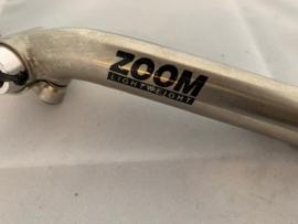 ZOOM Lightweight 26,6 x 250 Zadelpen, Zilver, Nieuw