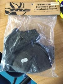 THE ONE BMX Helmpad, Inlay, Replacement Kit, Adult Large, Zwart, Gloednieuw