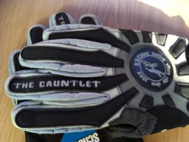KHE THE GAUNTLET BMX RACE Fietshandschoenen, Adult L, Zwart/Grijs, Gloednieuw