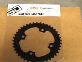SD, SUPERDUPER 41T BMX Voortandwiel, Zwart, Gloednieuw